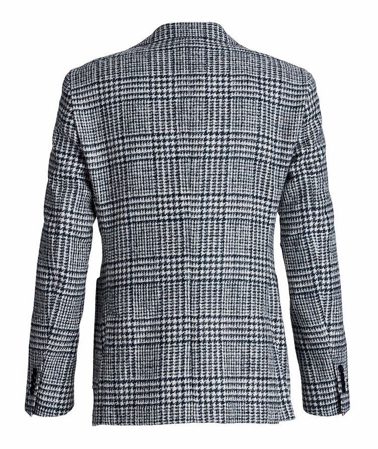 Veston en laine et laine d'alpaga à motif quadrillé image 1