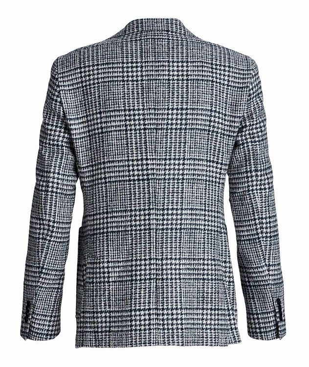 Veston en laine et laine d'alpaga à motif quadrillé picture 2