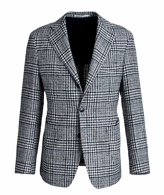Atelier Munro Checked Wool-Baby Alpaca Sports Jacket