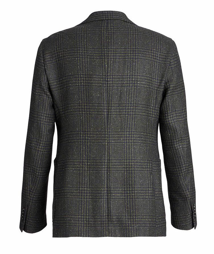 Checked Wool, Baby Alpaca, and Silk Sports Jacket image 1