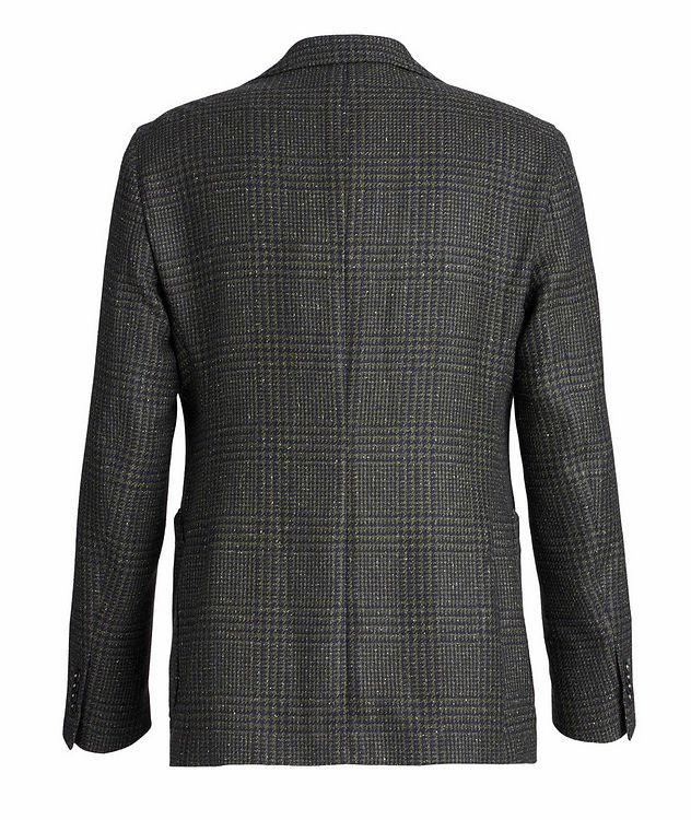 Checked Wool, Baby Alpaca, and Silk Sports Jacket picture 2