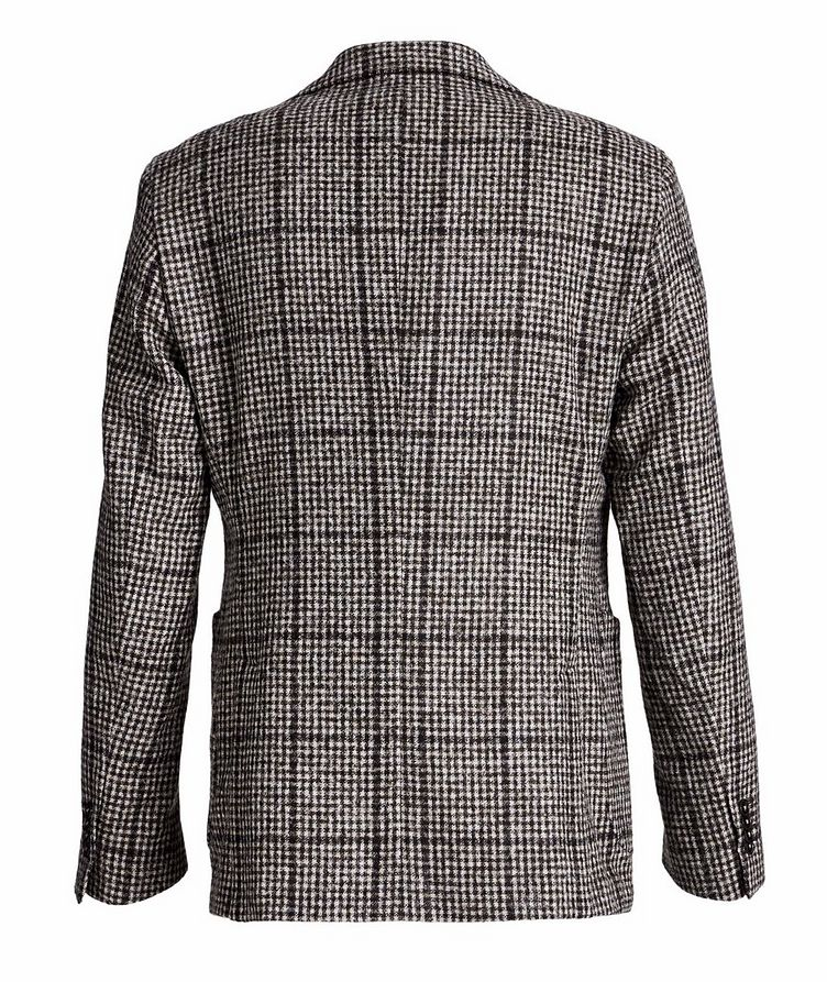 Checked Baby Alpaca-Wool Sports Jacket image 1