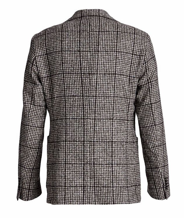 Checked Baby Alpaca-Wool Sports Jacket picture 2