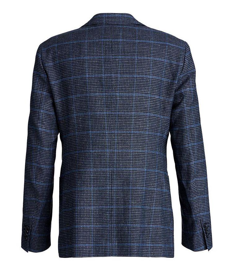Windowpane Linen, Wool, and Cotton Sports Jacket image 1