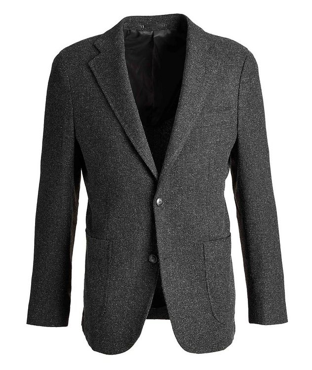Mélange Wool Sports Jacket picture 1