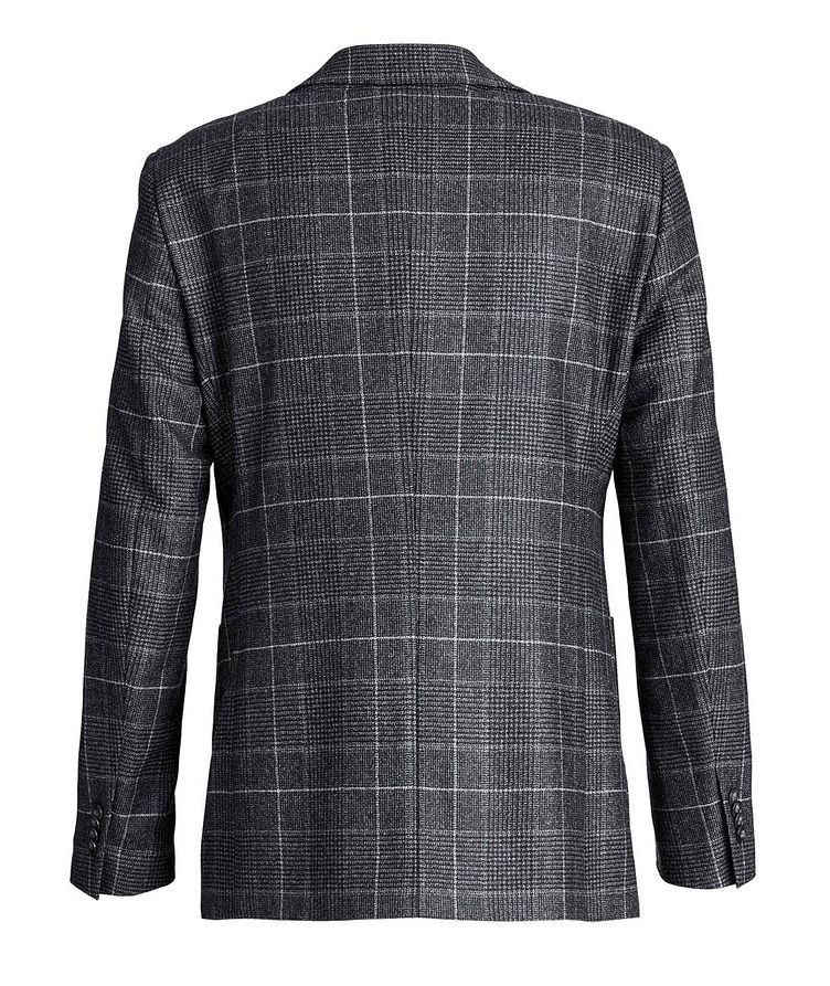 Windowpane-Checked Wool Sports Jacket image 1