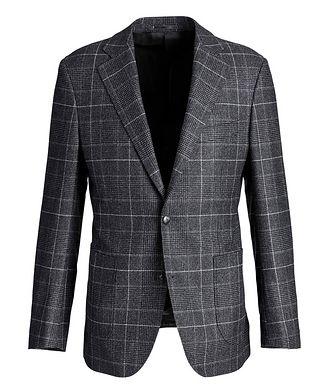 Atelier Munro Windowpane-Checked Wool Sports Jacket