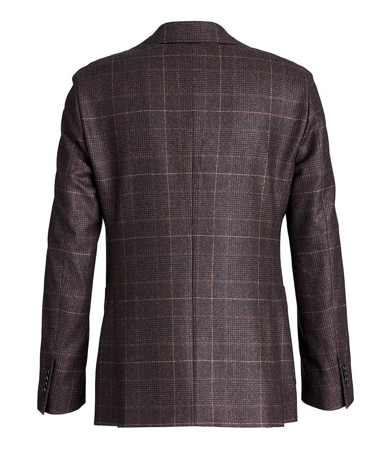 Windowpane-Checked Wool Sports Jacket image 1