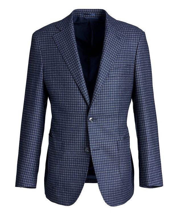 Gingham Wool Sports Jacket picture 1
