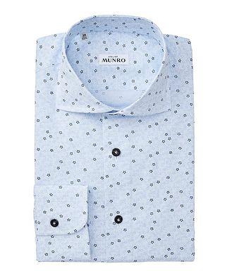 Atelier Munro Slim Fit Floral-Printed Cotton Dress Shirt