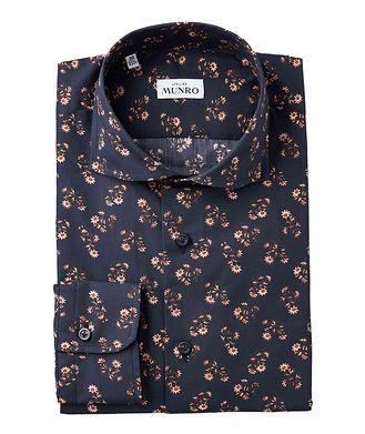Atelier Munro Slim Fit Floral-Printed Dress Shirt