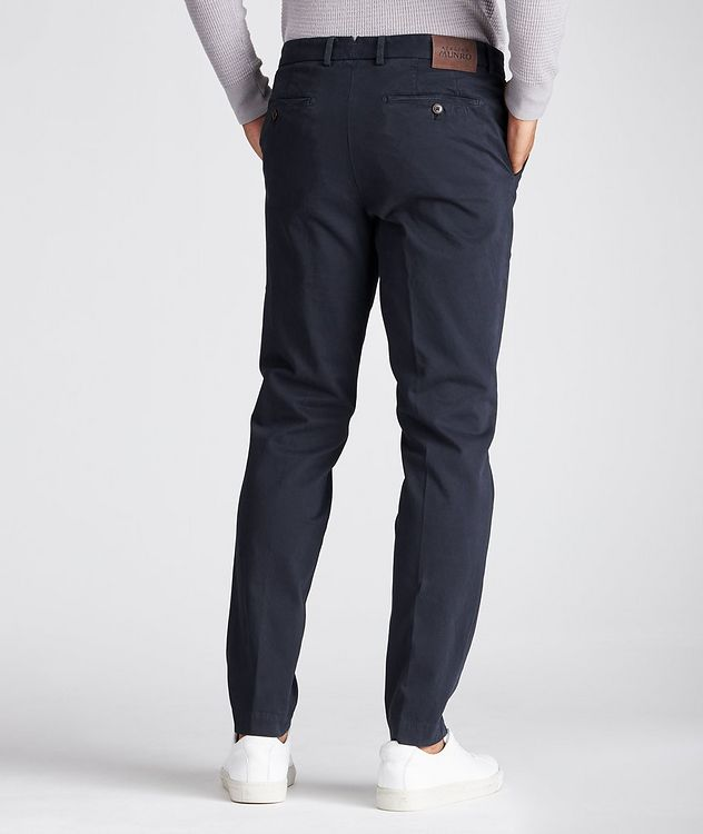 Stretch-Cotton Twill Chinos picture 2