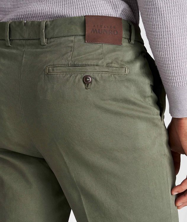 Stretch-Cotton Twill Chinos picture 3