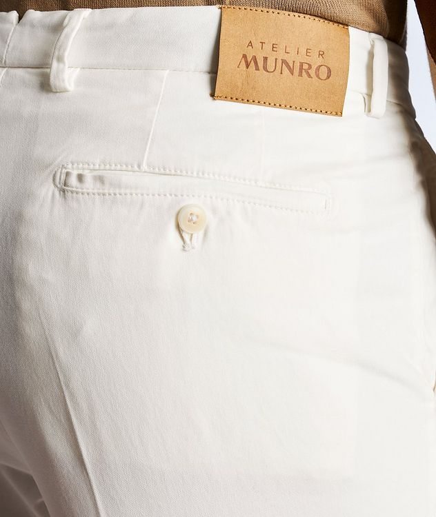 Stretch-Cotton Twill Chinos picture 4