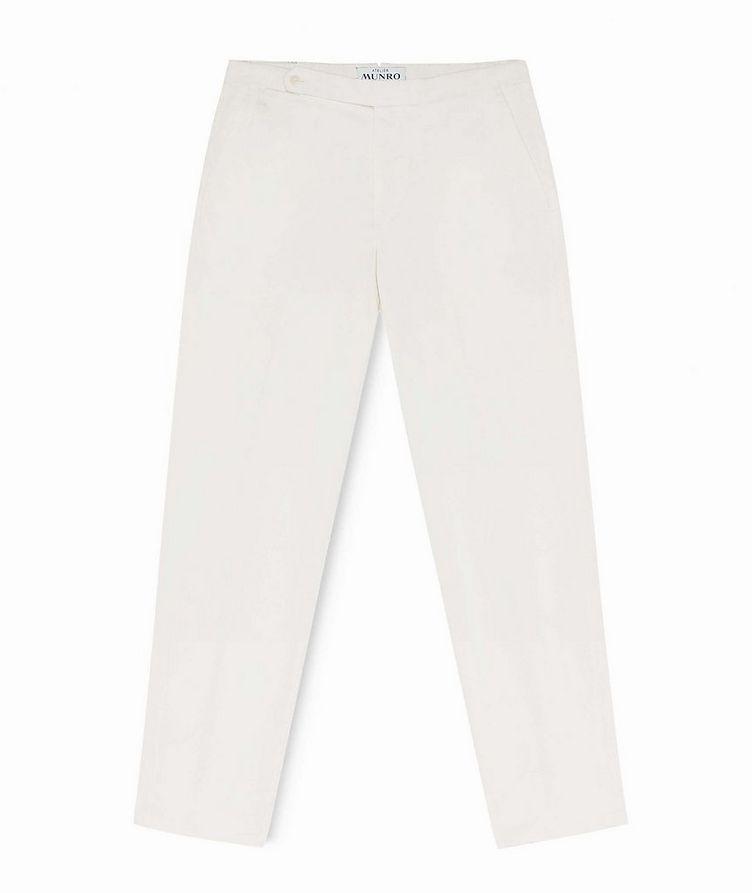 Stretch-Cotton Twill Chinos image 0