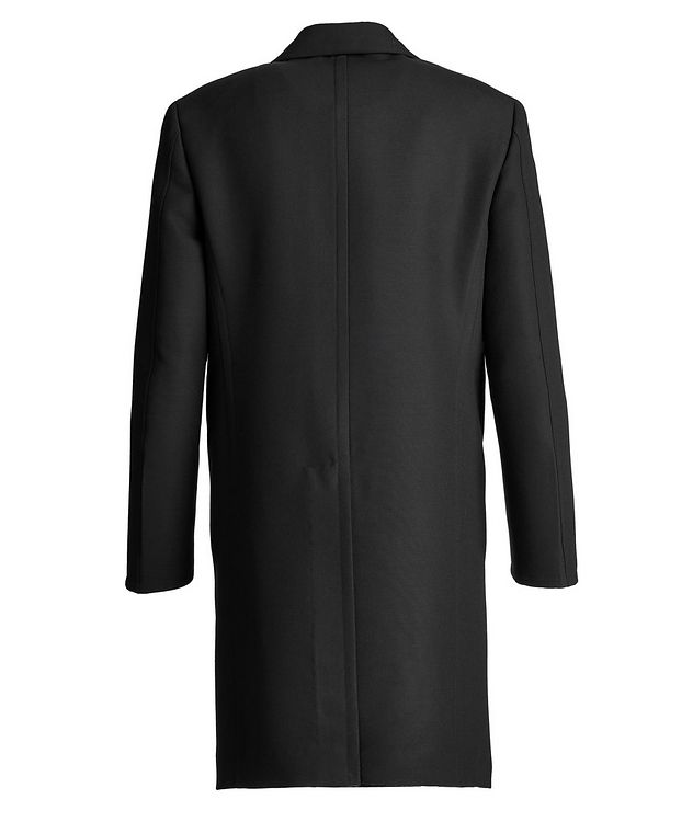 Double-Breasted Wool Overcoat  picture 2