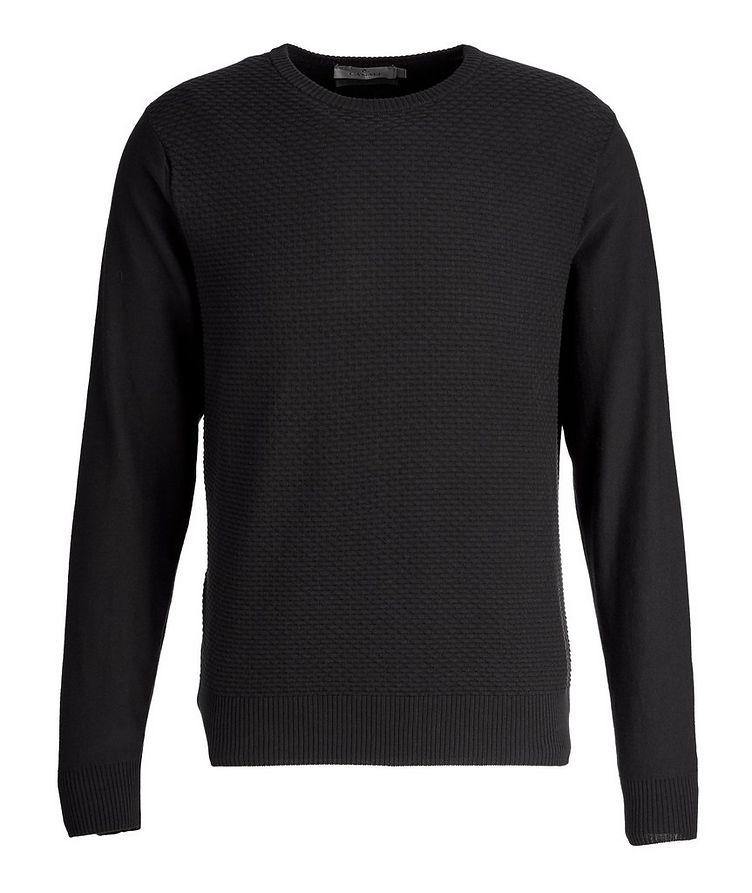 Knit Cotton-Blend Sweater image 0