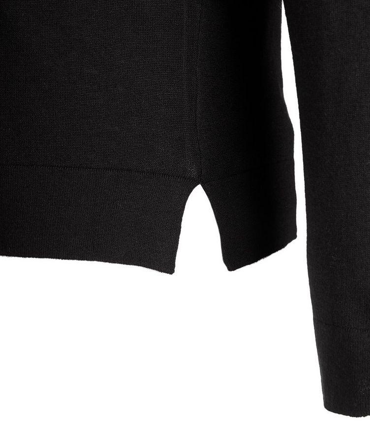 V-Neck Wool-Blend Sweater image 2