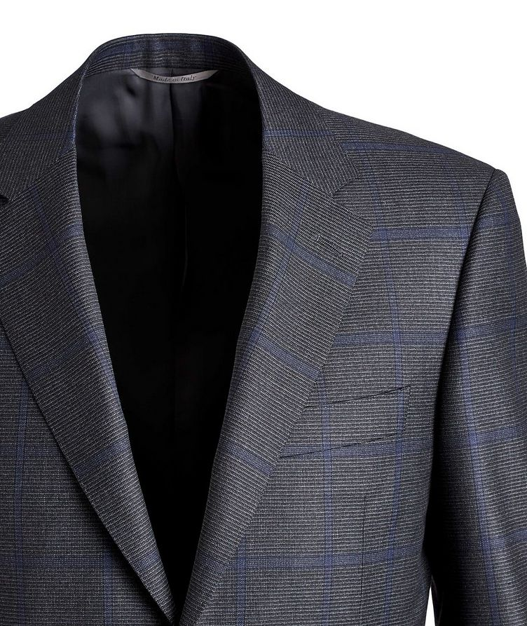 Checked Wool Suit image 1