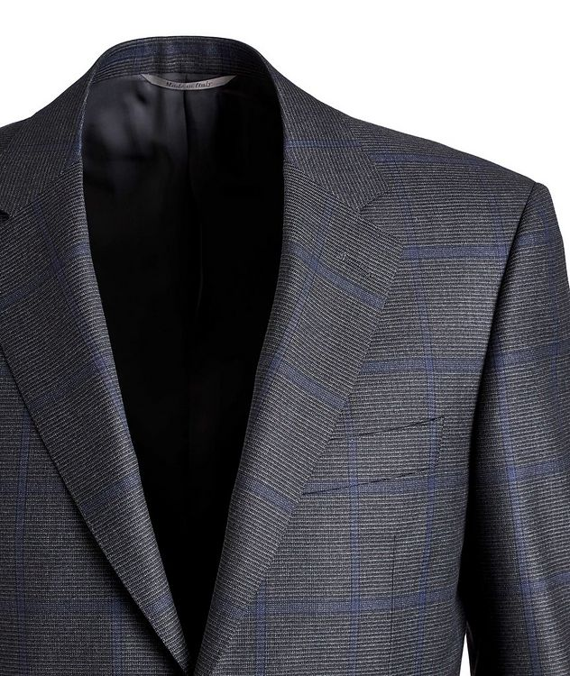 Checked Wool Suit picture 2