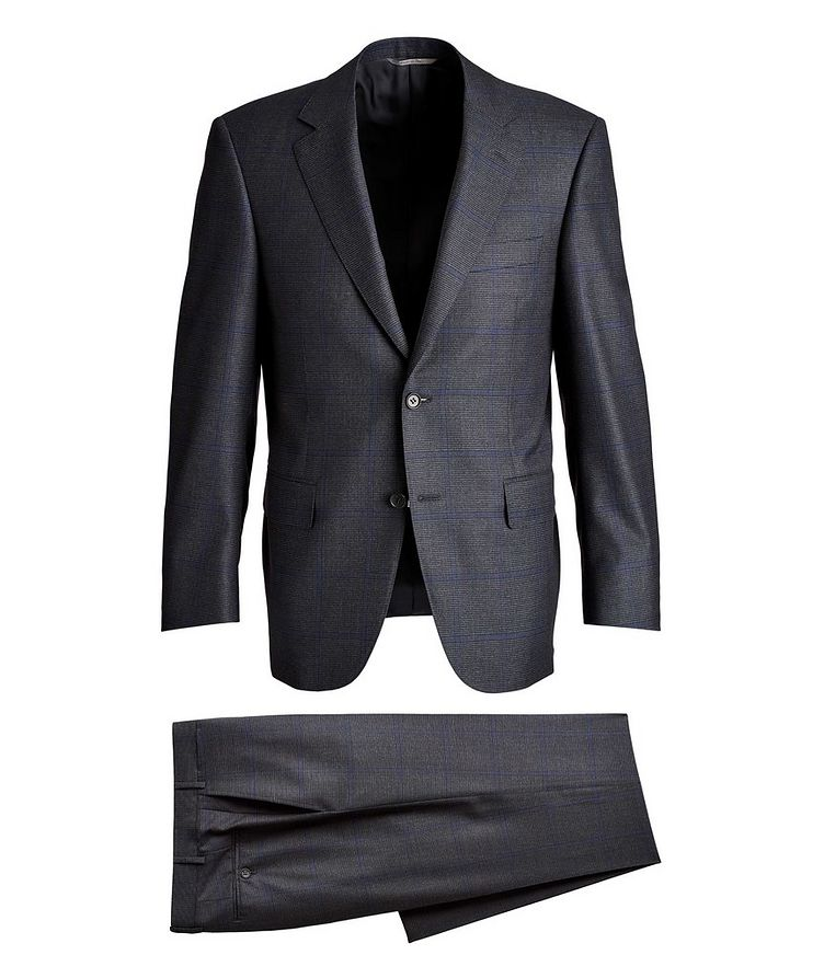Checked Wool Suit image 0