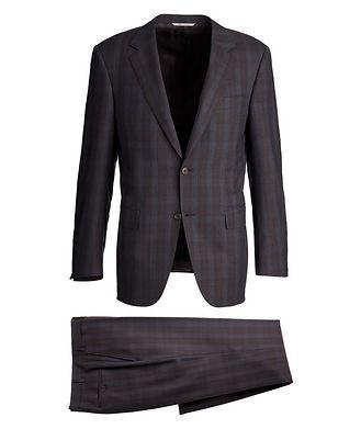 Canali Impeccabile Checkered Contemporary Fit Suit
