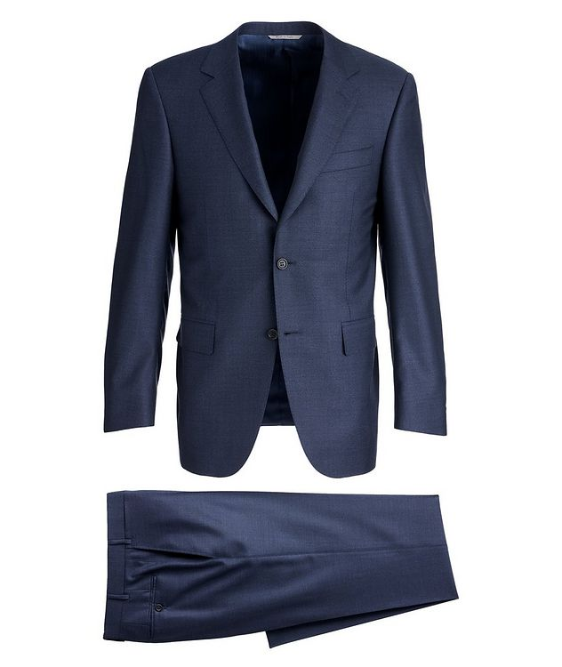 Exclusive Contemporary-Fit Wool Suit picture 1