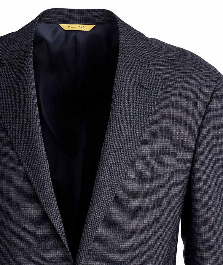 Kei Stretch Checkered Sports Jacket image 1