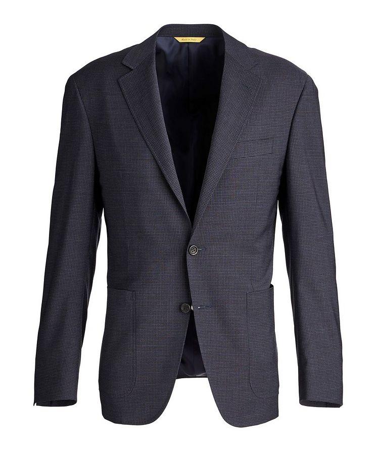 Kei Stretch Checkered Sports Jacket image 0