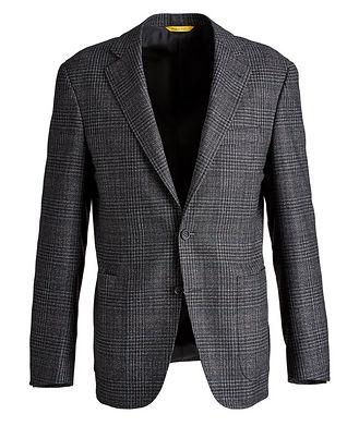 Canali Kei Checked Sports Jacket