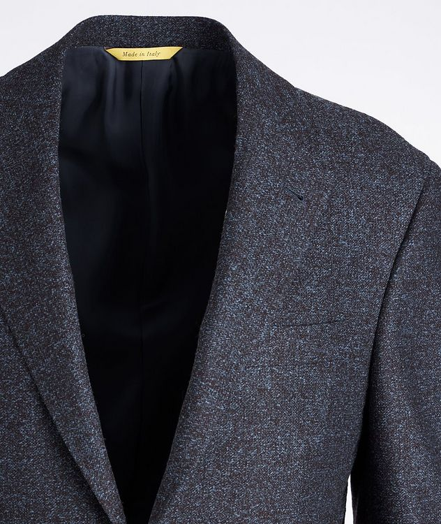 Kei Wool and Silk-Blend Sports Jacket picture 2