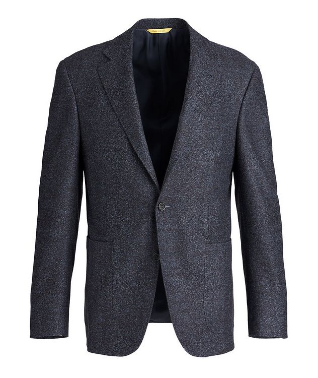 Kei Wool and Silk-Blend Sports Jacket picture 1