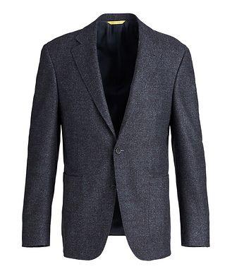 Canali Kei Wool and Silk-Blend Sports Jacket