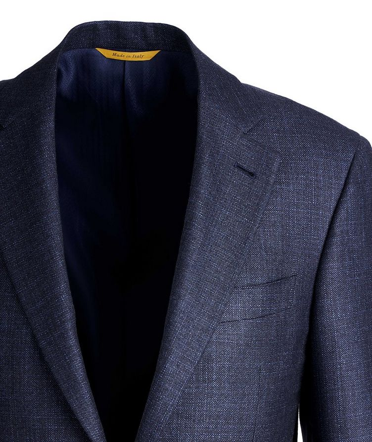 Kei Textured Silk-Cashmere Sports Jacket image 1