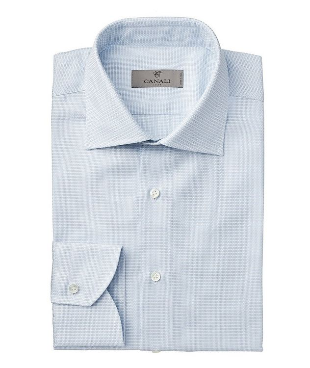 Contemporary Fit Printed Dress Shirt picture 1