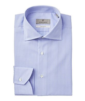Canali Impeccabile Micro-Checked Dress Shirt
