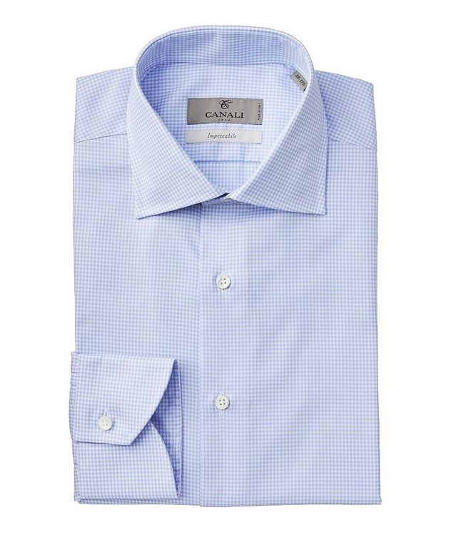 Impeccabile Houndstooth Dress Shirt picture 1