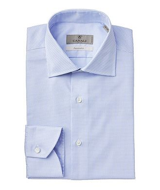 Canali Impeccabile Houndstooth Dress Shirt