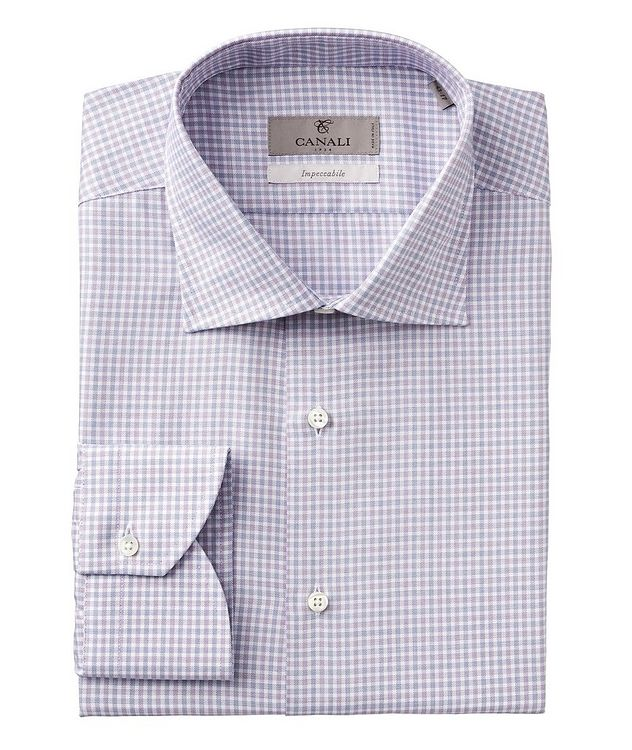 Impeccabile Checked Cotton Dress Shirt picture 1