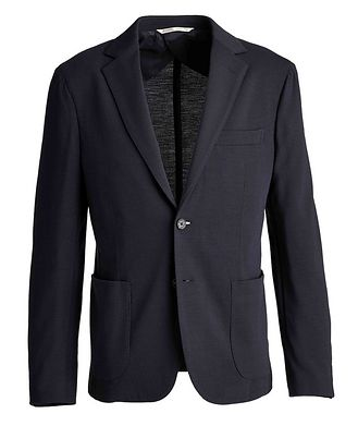 Maurizio Baldassari Unstructured Virgin Wool Sports Jacket