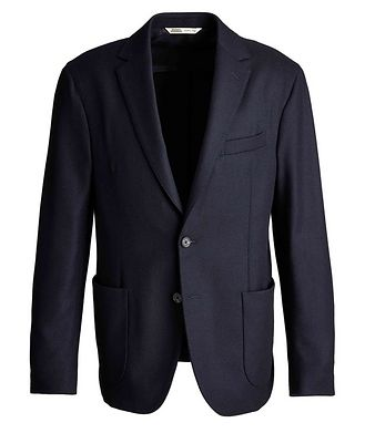 Maurizio Baldassari Cashmere-Virgin Wool Sports Jacket
