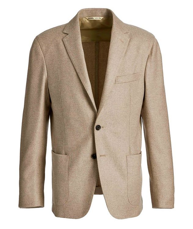 Twill Cashmere-Wool Sports Jacket picture 1