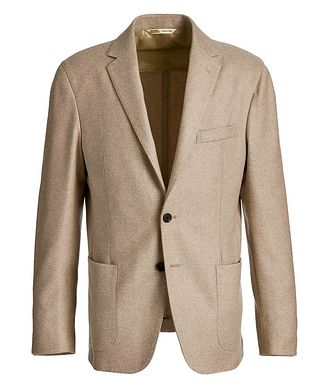 Maurizio Baldassari Twill Cashmere-Wool Sports Jacket