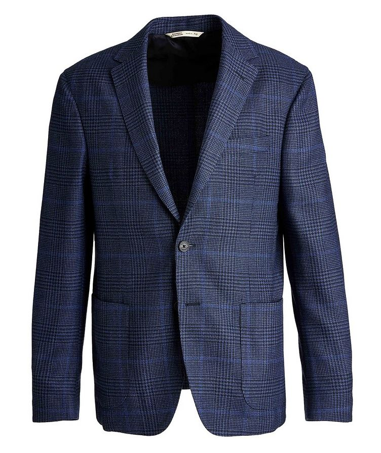 Checked Virgin Wool Sports Jacket image 0