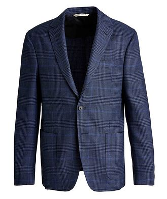 Maurizio Baldassari Checked Virgin Wool Sports Jacket