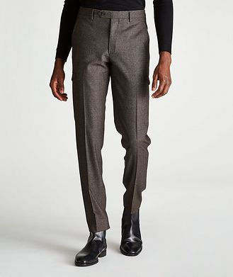 Maurizio Baldassari Slim-Fit Cargo Dress Pants