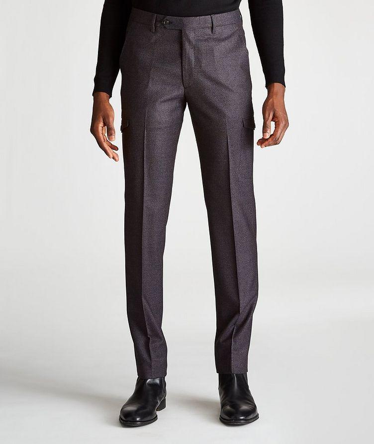 Slim-Fit Cargo Dress Pants image 0
