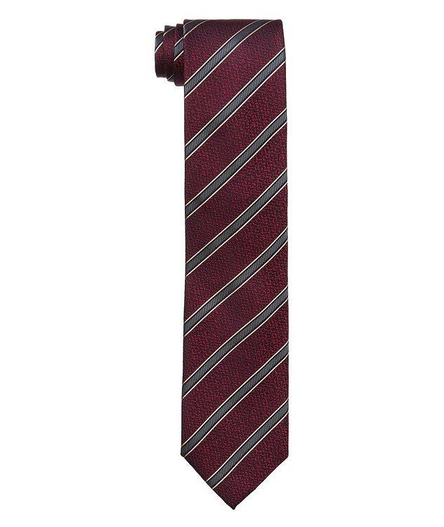 Striped Silk Tie picture 1