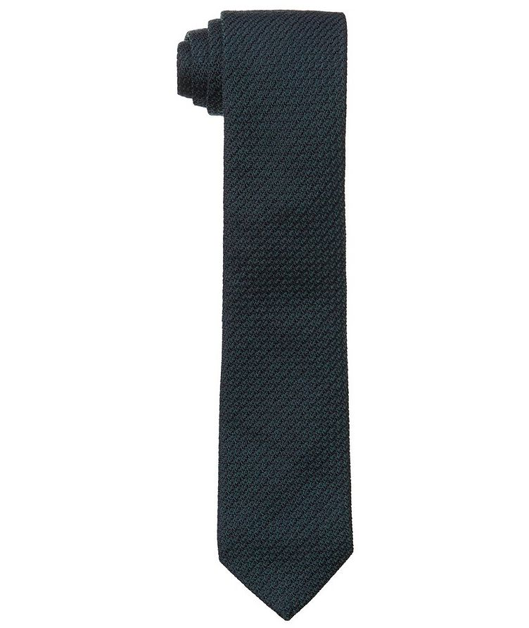Woven Wool-Silk Tie image 0