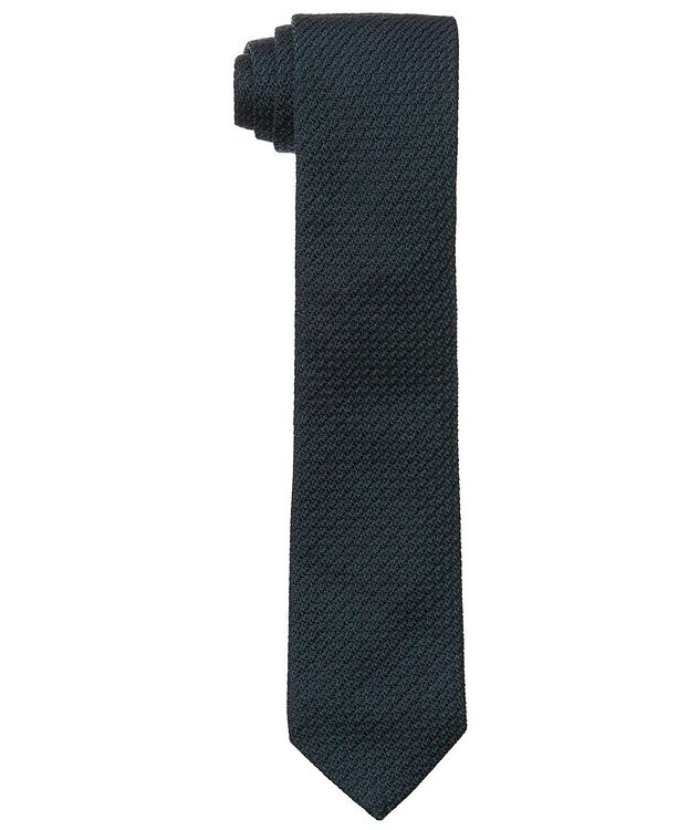Woven Wool-Silk Tie picture 1